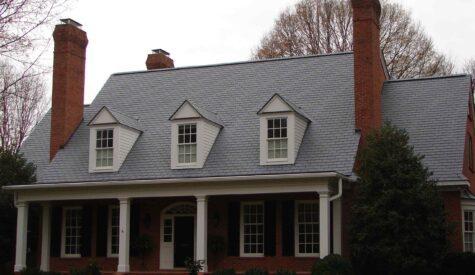 Reliance Roof Pros | Plastic Composite Ash Grey