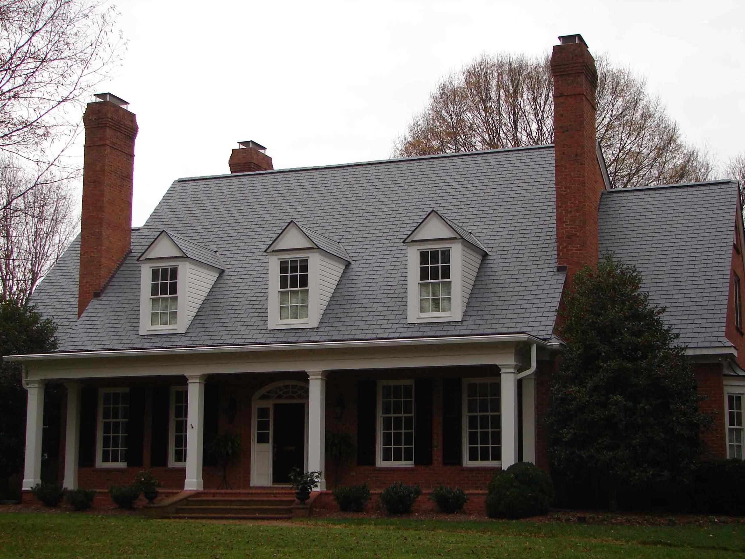 Reliance Roof Pros   Plastic Composite Ash Grey