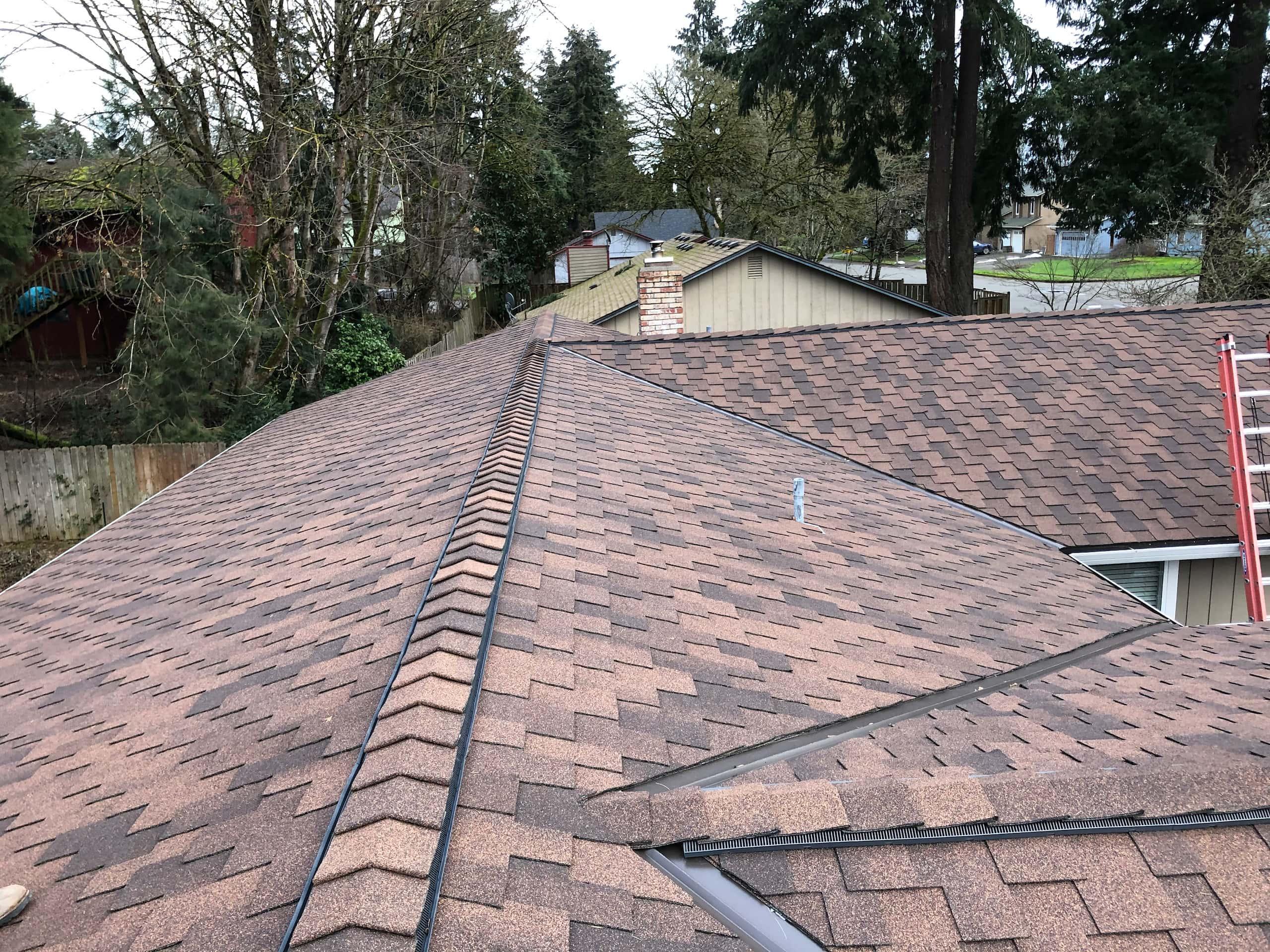 Reliance Roof Pros LLC | Beaverton | New Roof | Malarkey Windsor SG | Antique Brown | Complete