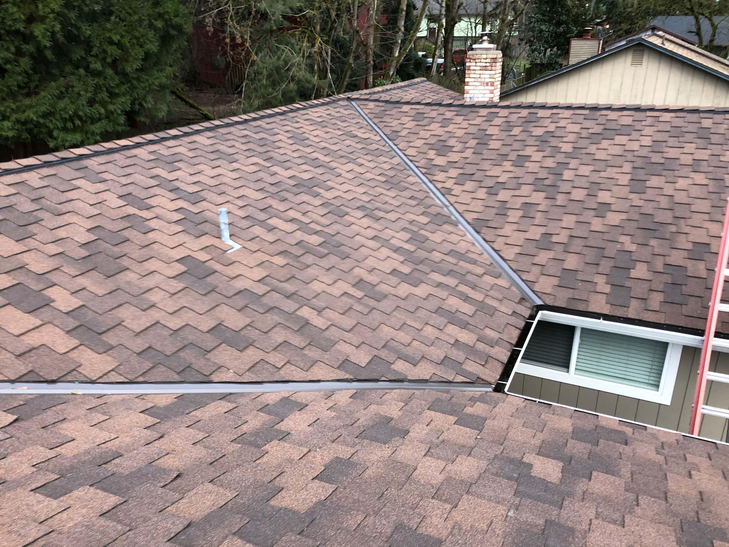 Reliance Roof Pros LLC | Beaverton | New Roof | Malarkey Windsor SG | Antique Brown | Roof System