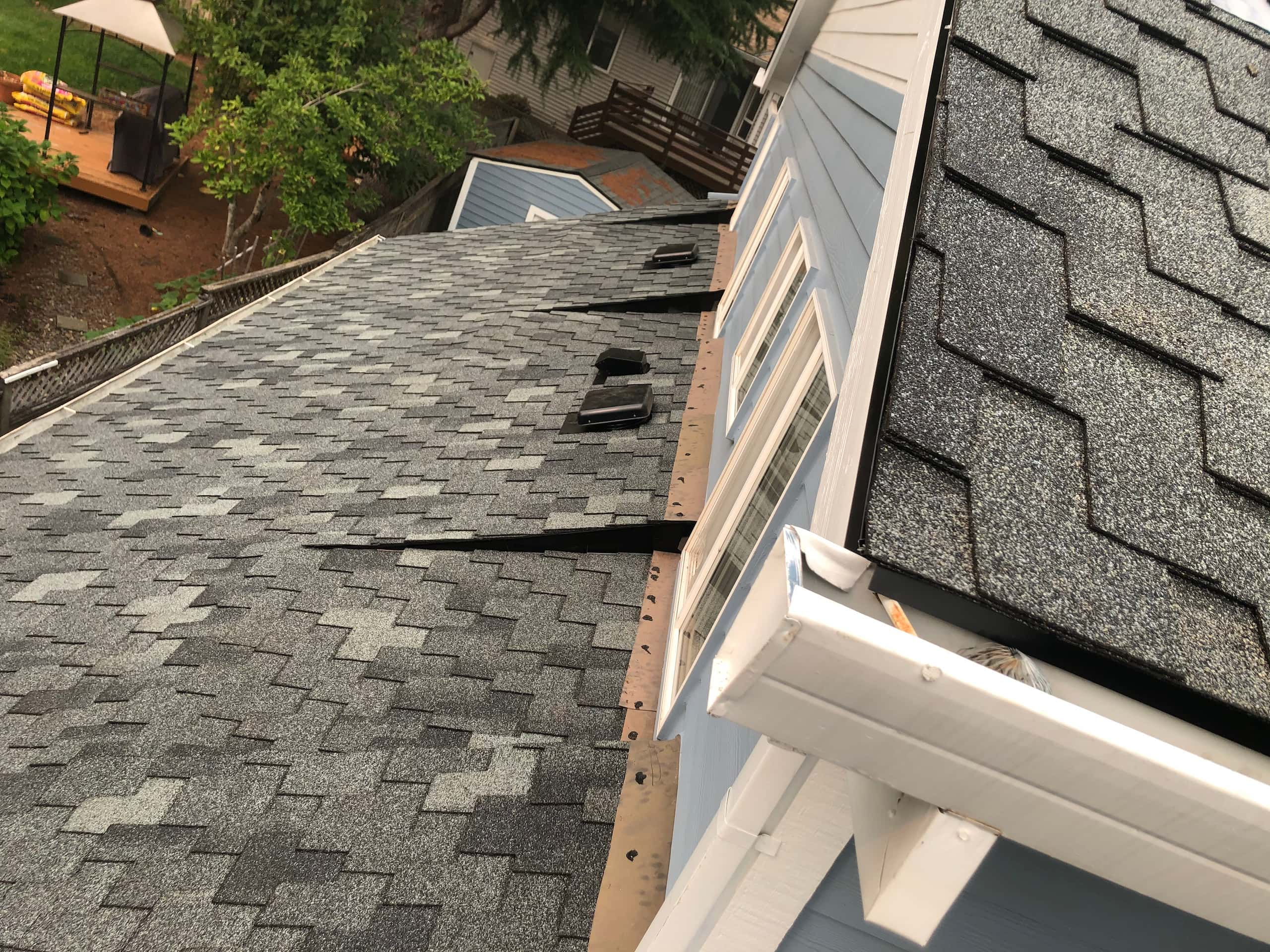 Reliance Roof Pros LLC | Beaverton | New Roof | Pabco Paramount AD | Pewter Gray | Flashings Gutters