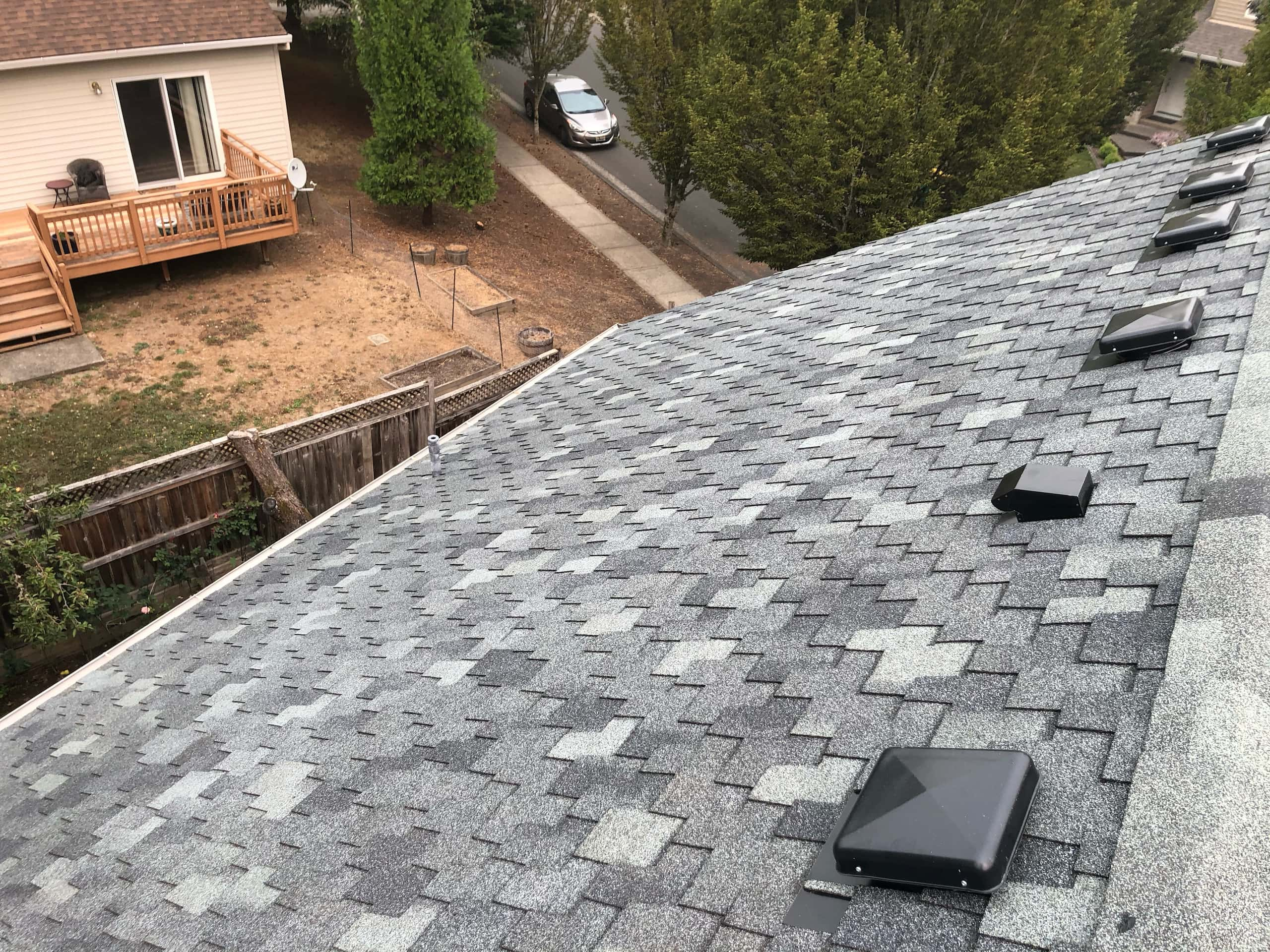 Reliance Roof Pros LLC | Beaverton | New Roof | Pabco Paramount AD | Pewter Gray | Vents