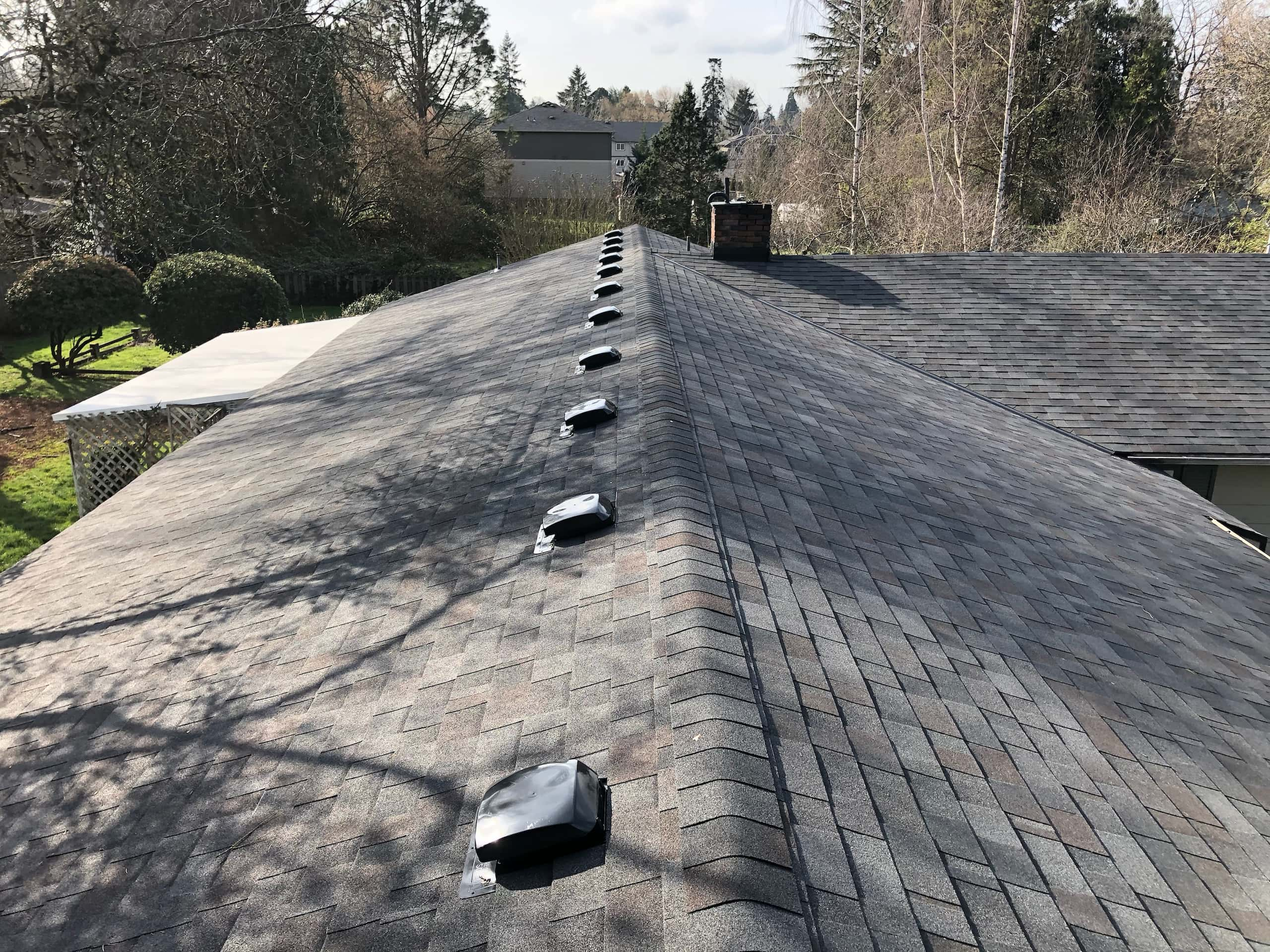 Reliance Roof Pros | West Linn | New Roof | Malarkey Vista AR in Black Oak | Best Local Roofing Company