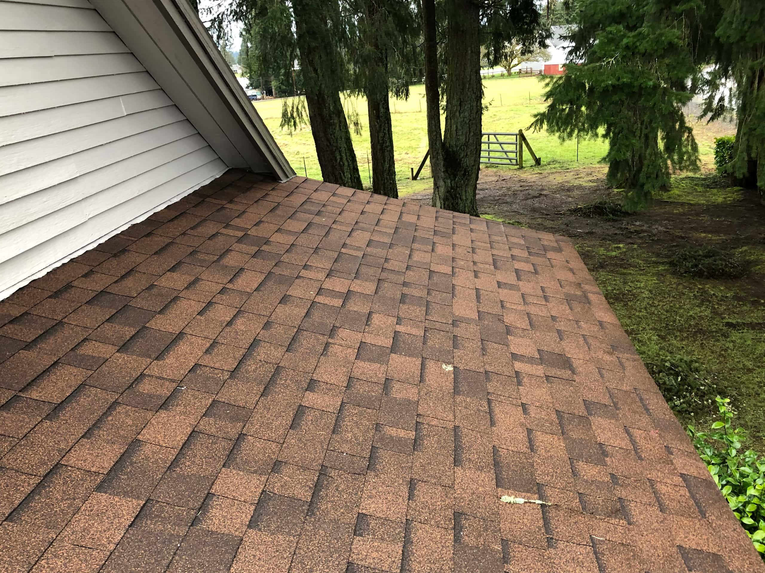 Reliance Roof Pros LLC | Lake Oswego | New Roof | Malarkey Vista AR | Antique Brown | Edge