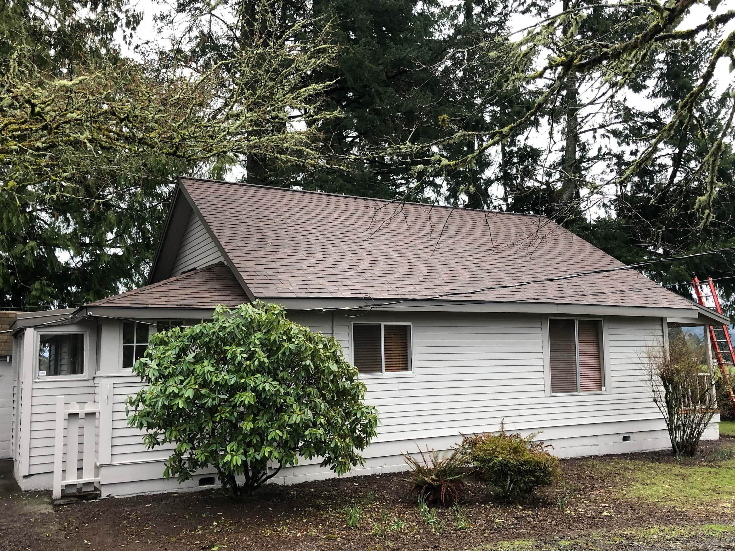 Reliance Roof Pros LLC | Lake Oswego | New Roof | Malarkey Vista AR | Antique Brown | Fullview