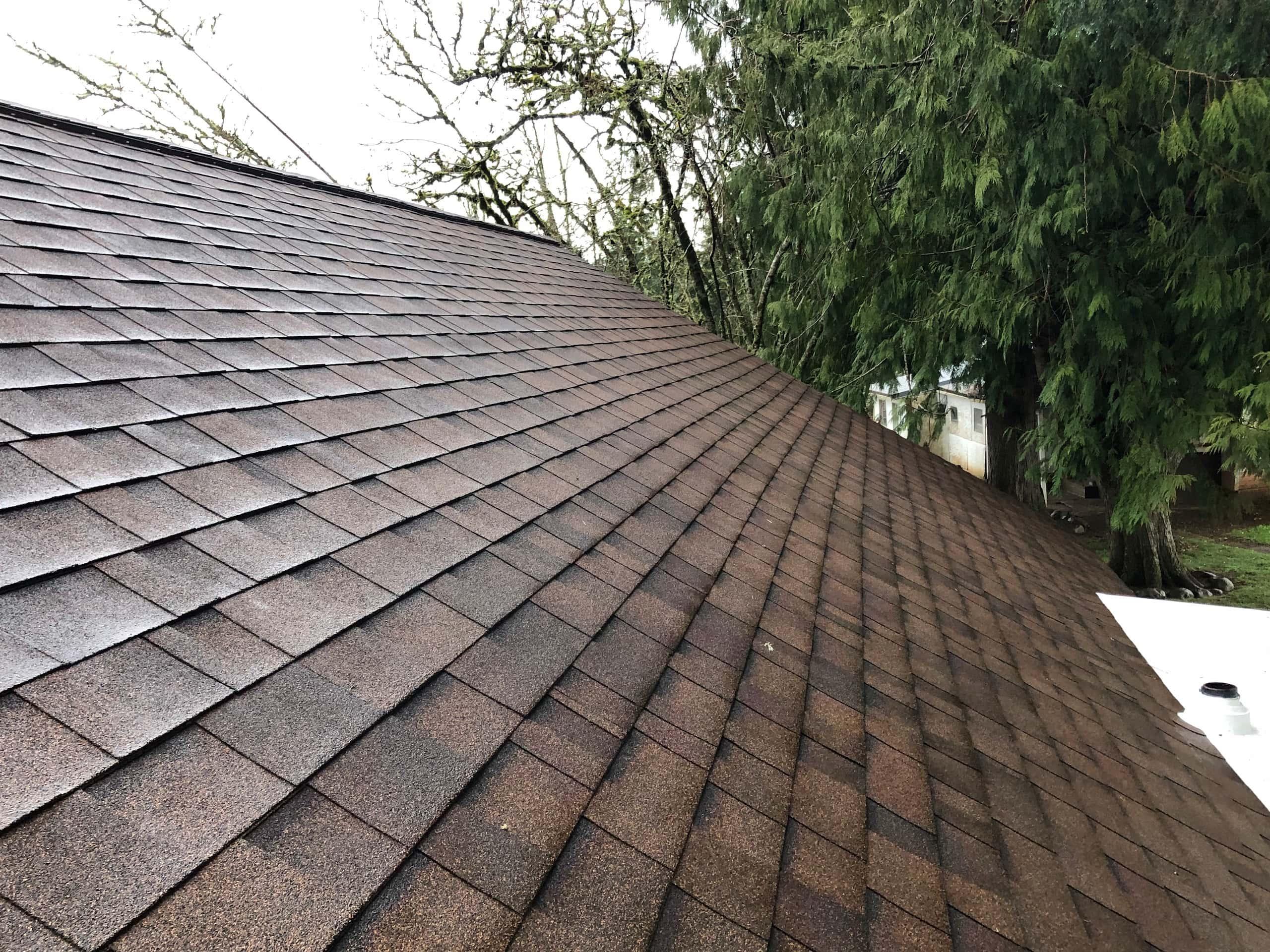 Reliance Roof Pros LLC | Lake Oswego | New Roof | Malarkey Vista AR | Antique Brown | Roof System