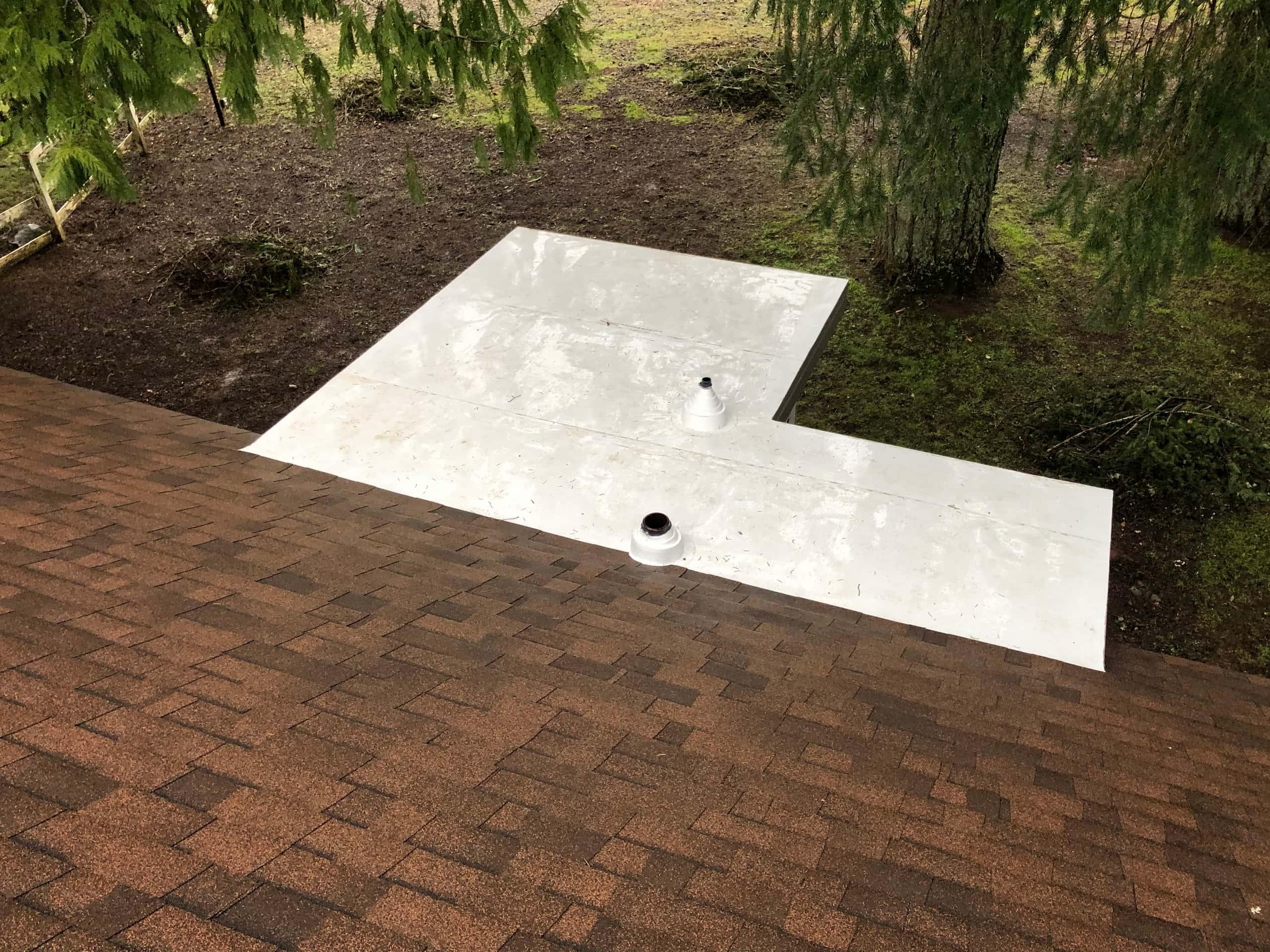 Reliance Roof Pros LLC | Lake Oswego | New Roof | Malarkey Vista AR | Antique Brown | Topview
