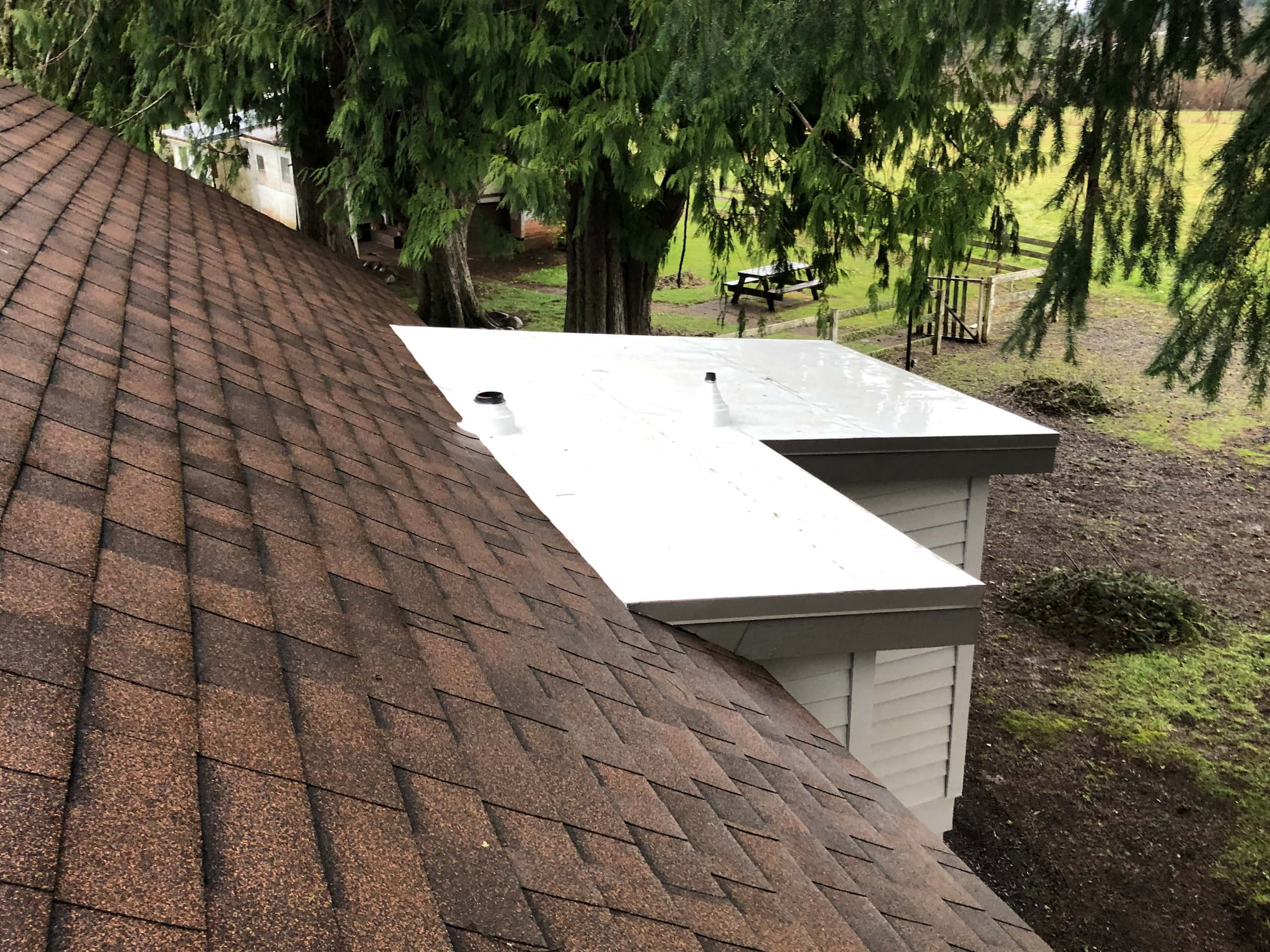 Reliance Roof Pros LLC | Lake Oswego | New Roof | Malarkey Vista AR | Antique Brown | Vents